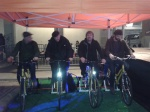 a pedal power party in the raval