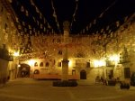 fiestas in the central square in cretas
