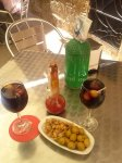 vermouth and berberechos - the typical pre-lunch saturday activity in calaceite (and other places in spain)