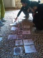 el domingo sesiones teóricas sobre diseño de permacultura y bosques comestibles // Sunday we had theory sessions on permaculture design and food forests