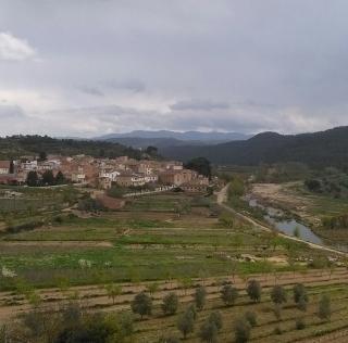 local village - happy spring landscape!!